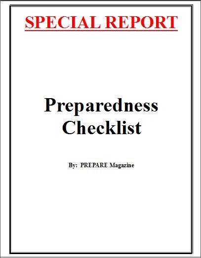 Preparedness Checklist
