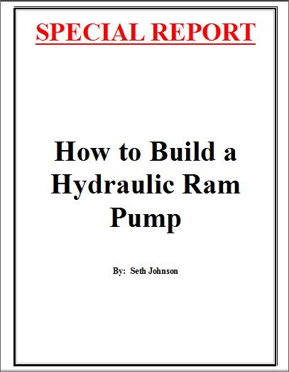Build a Hydraulic Ram Pump