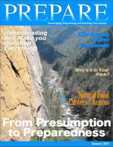 PREPARE Magazine January 2015
